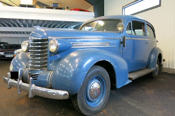 Super nice wagon from the 30s, previously used as a police car. Sold to a satisfied Swedish buyer.
