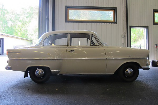 Swedish car sold with only two registered owners. Same owner from 1982 to 2014 when the car was sold to a Opel enthusiast at PS Collector Car Auction